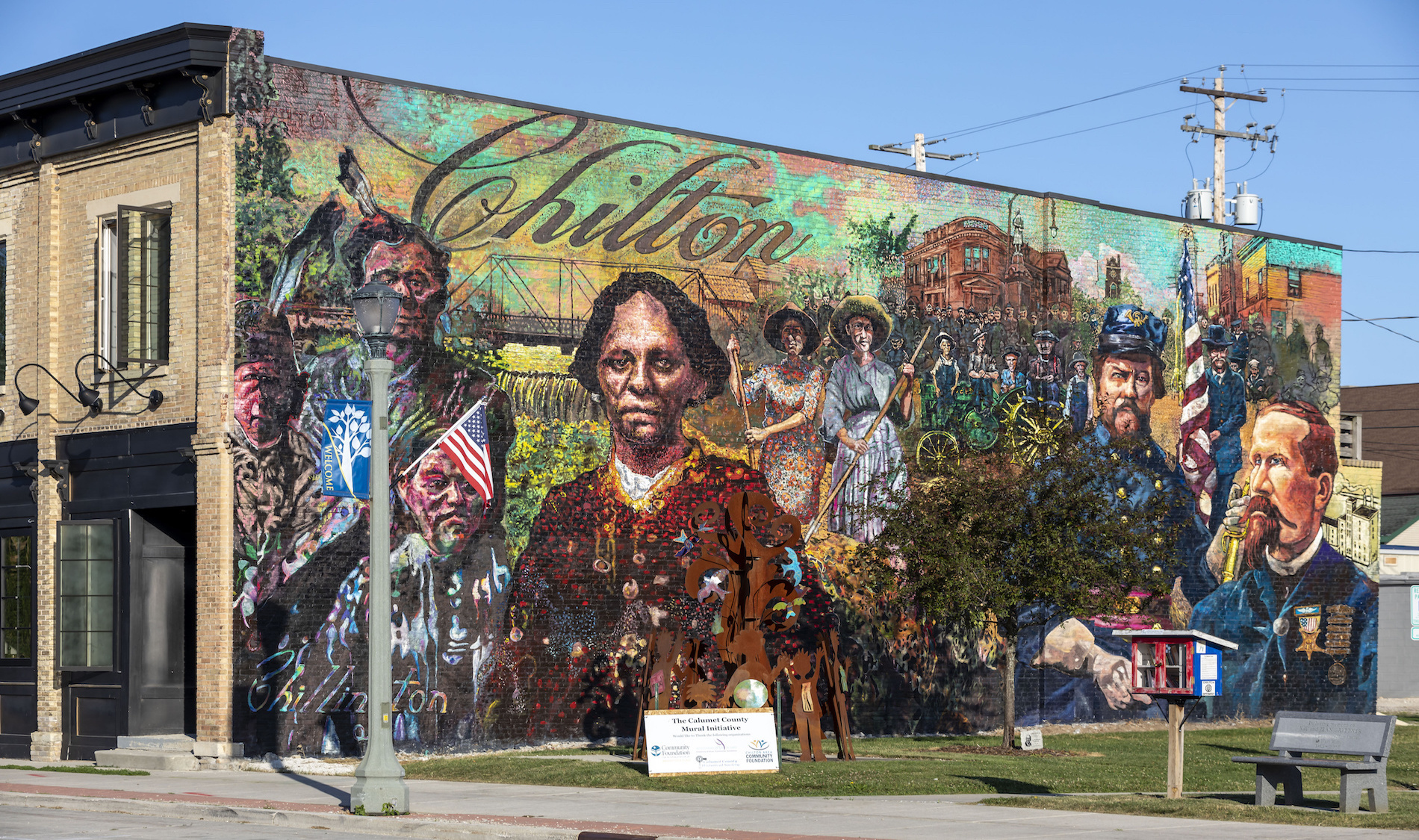40 West Chilton Mural