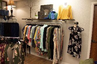 Inside of Brave Girl Boutique